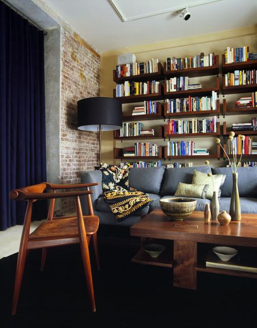 West Chelsea Loft modern-home-office