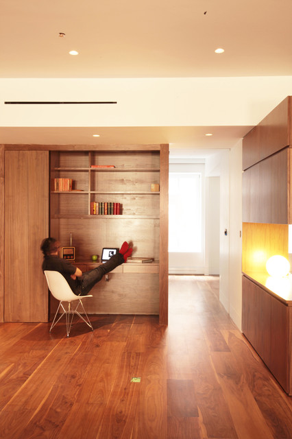 Tribeca Loft modern-home-office