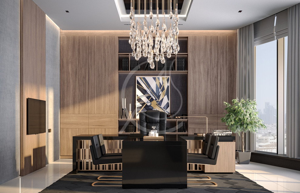 Modern Luxury Ceo Office Interior