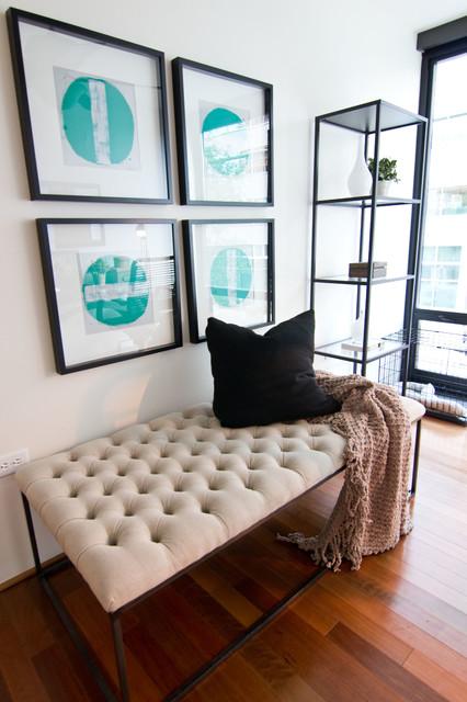 Village interior design llc interior designers decorators - Modern Moroccan Condo Modern Home Office Phoenix
