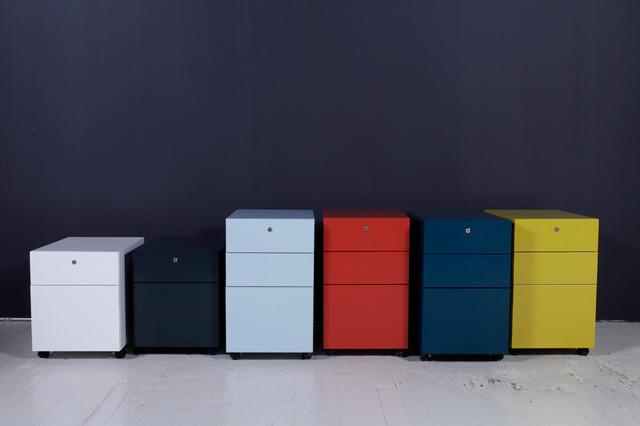 Contemporary Metal Office Furniture ~ Modern office furniture metal storage