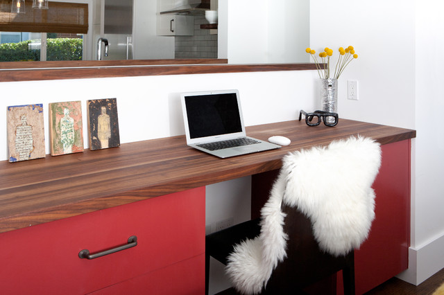 modern home office by Regan Baker Design