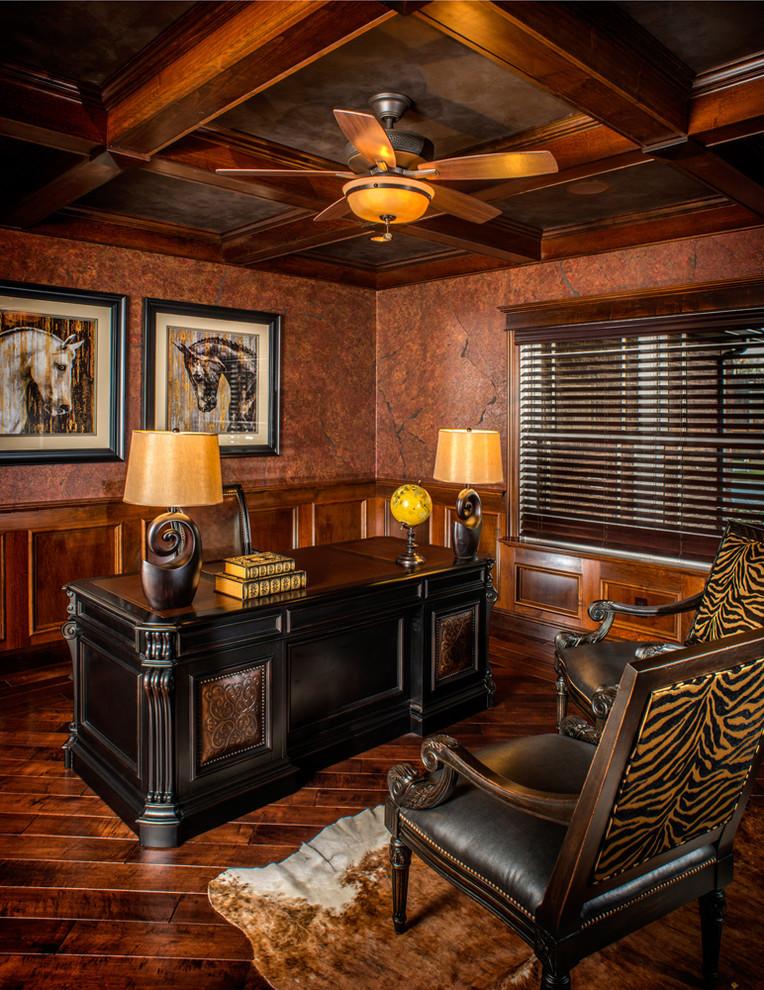 innovative design 726bf 2e6a7 Modern Rustic Refined Ranch - Rustic - Home Office ...