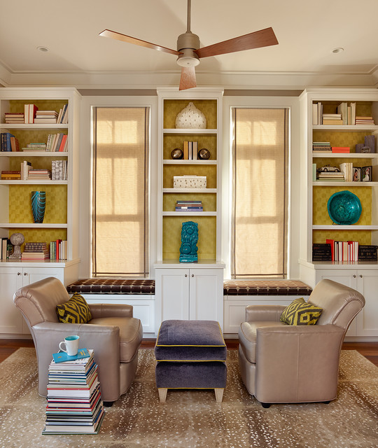 Modern Symmetry - traditional - home office - charleston - by ...