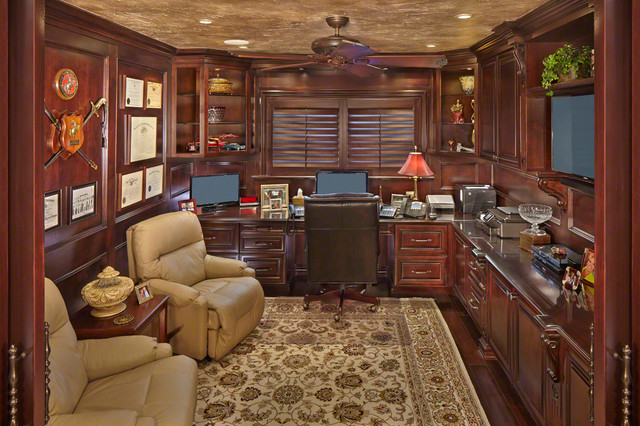 modern traditional home traditional home office other metro by