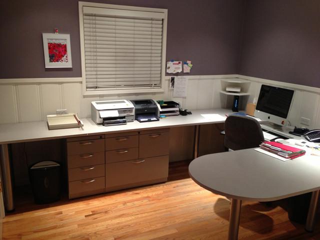 Modesto Home Office Makeover contemporary-home-office
