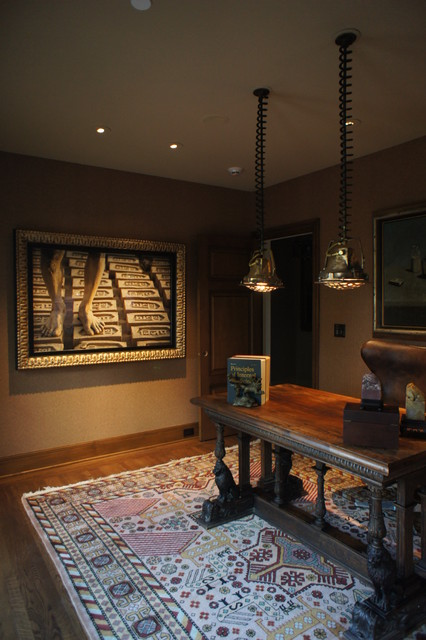Monte Sereno Historic Whole House Remodel eclectic-home-office