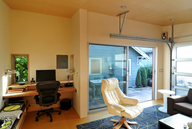 The Beatbox modern-home-office