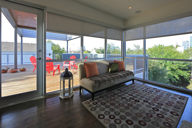 Montrose House #1 modern-home-office