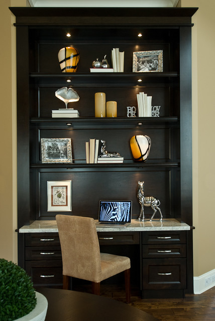 Morgan Creek Residence contemporary-home-office