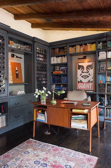 Mount Washington - Contemporary - Home Office - Los Angeles - by Deirdre Doherty Interiors