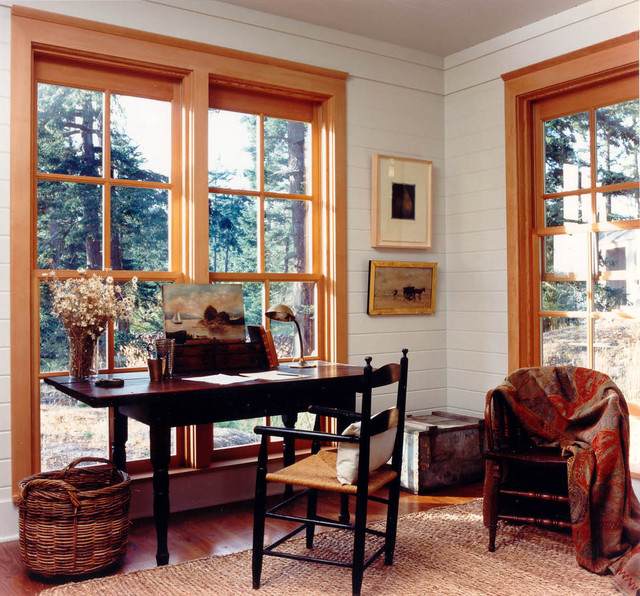 Mt. Shadows rustic-home-office