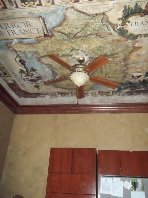 Murals eclectic-home-office