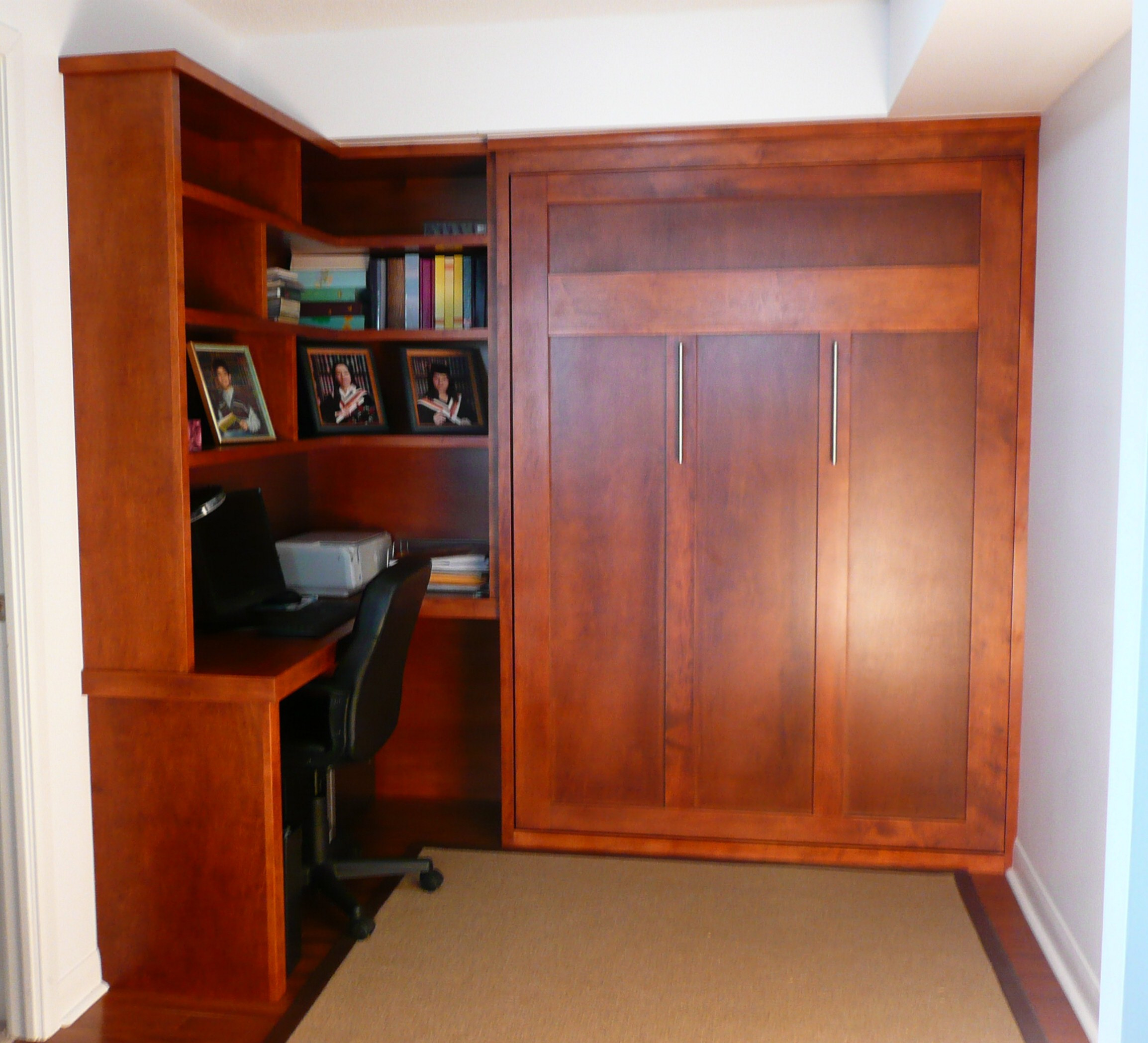 Murphy Bed Built-in With Study