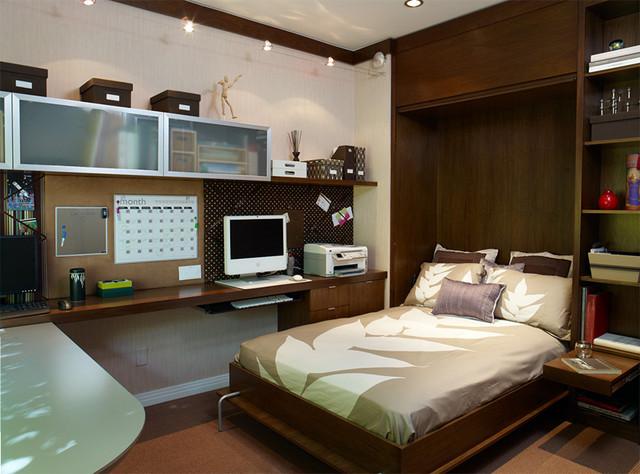 Murphy Bed contemporary-home-office
