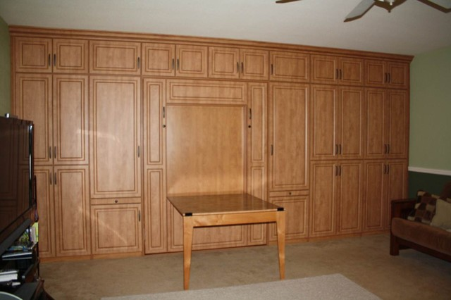murphy bed traditional home office bed in office