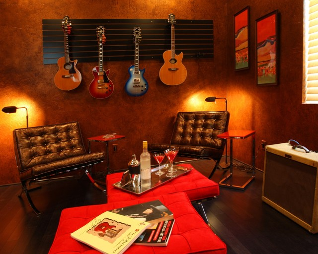 Home office music room design home design and style for Music room in house