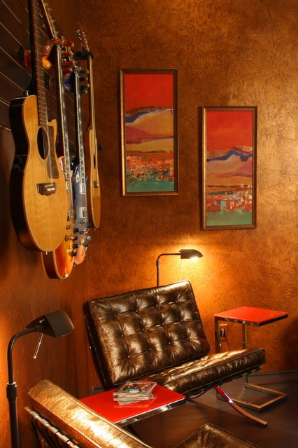 Music Room Transitional Home Office Other By Liz
