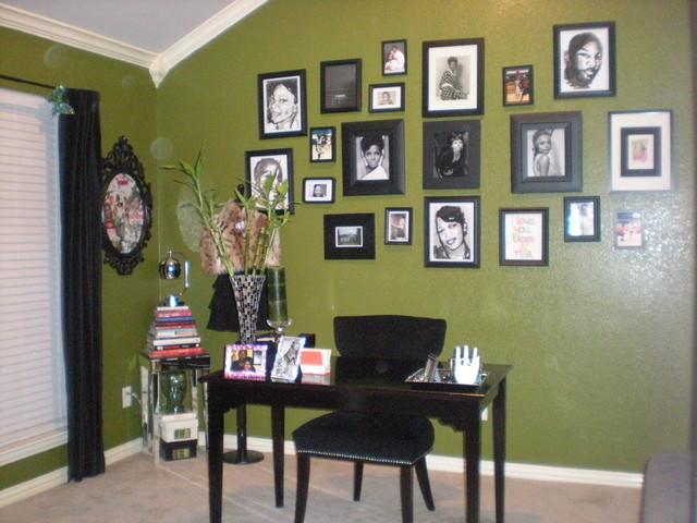 My Glam Office contemporary-home-office