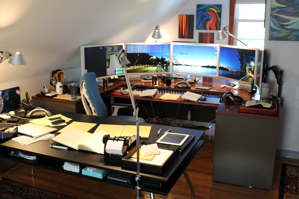 My Home Office Eclectic Home Office Boston