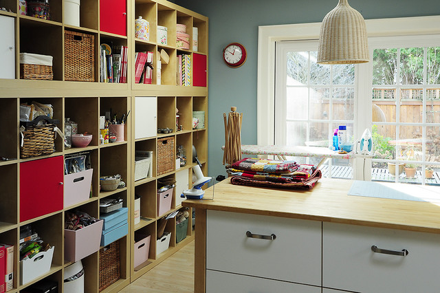 Alicia's Studio contemporary-home-office