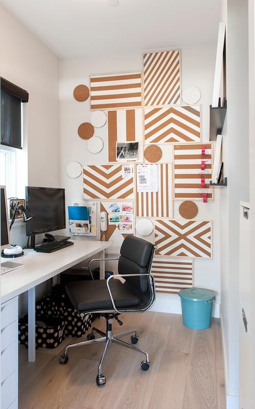 【Houzz】ホームオフィスを使いやすく整理する9の秘訣 12番目の画像