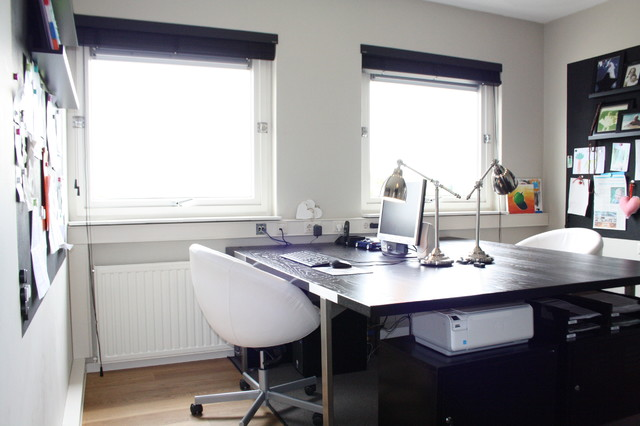 My Houzz Country Chic Family Home In The Netherlands Contemporary Office
