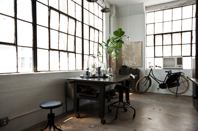 industrial home office new york by chris a dorsey photography