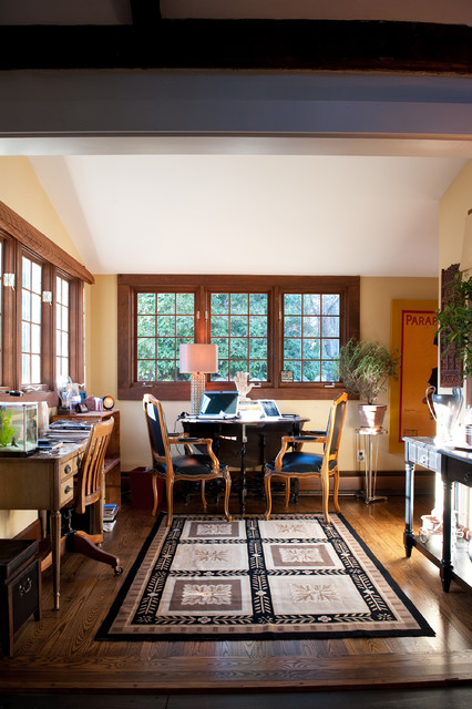 Farmhouse Home Office by Mary Prince