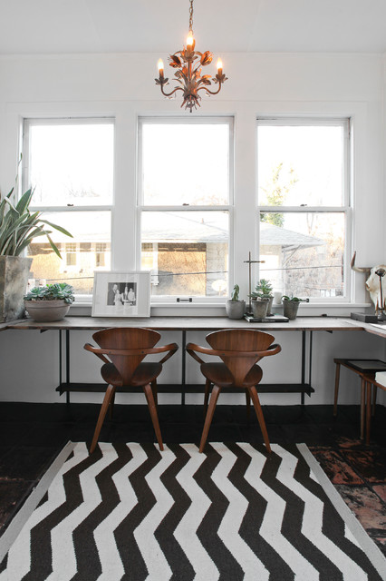 My Houzz: Modern and Moody Nostalgia in Salt Lake City contemporary-home-office