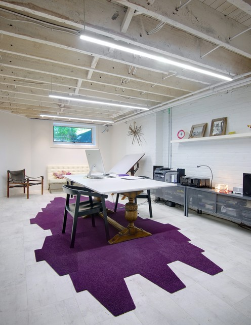 My Houzz: Post Architecture // Albany House Scandinavian Home Office