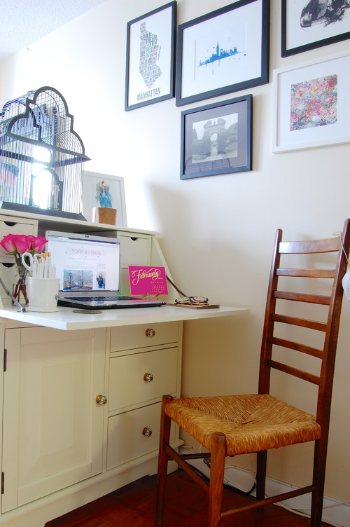 Tiny home offices 7 ideas for creating a workspace in a - Creating a small home office ...
