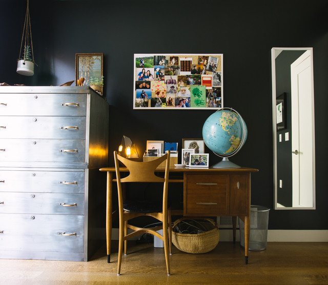 My Houzz: The Podolls contemporary-home-office