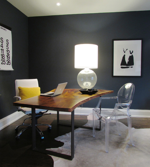 my houzz the richards 39 re build contemporary home office toronto by jenn hannotte. Black Bedroom Furniture Sets. Home Design Ideas
