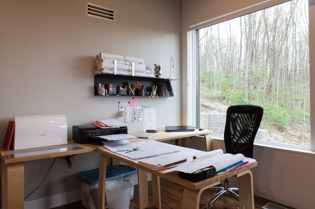 My Houzz: Torriero Home contemporary-home-office