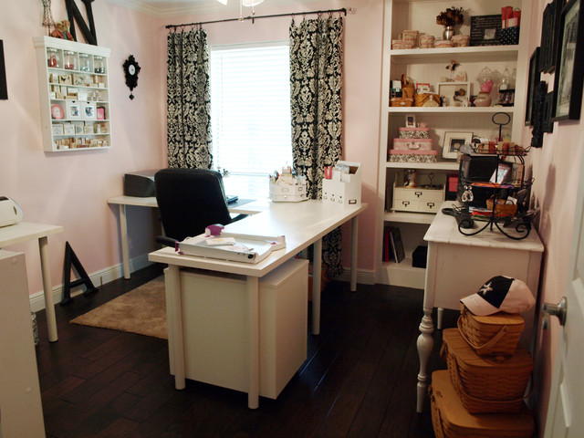 Nancy's Craft Studio traditional-home-office