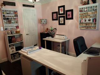 Nancy S Craft Studio Traditional Home Office Houston