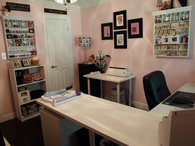 Nancys Craft Studio traditional home office