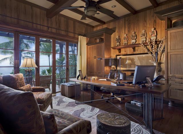 Naples, Florida - Residence on the beach asian-home-office