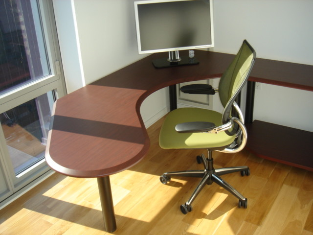 Neill Home Office Design contemporary-home-office