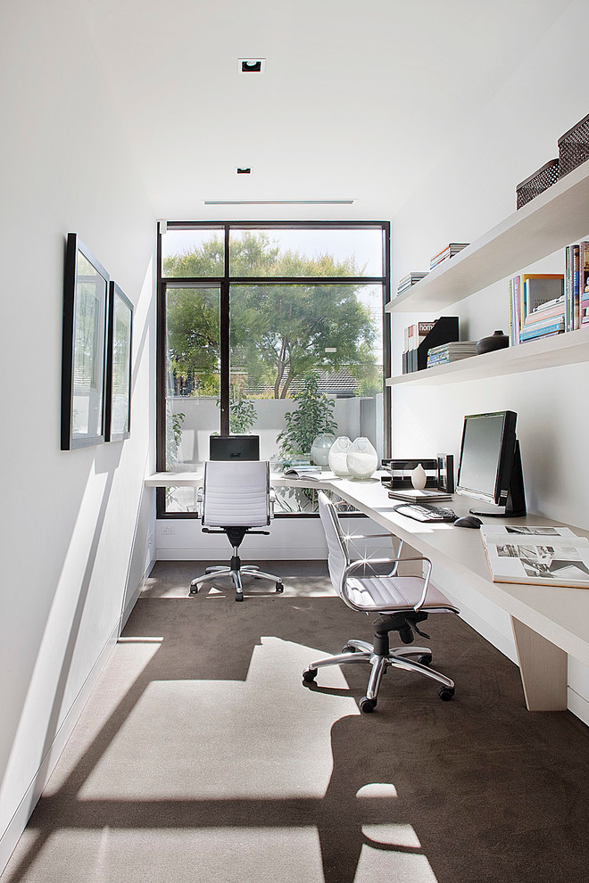 New Home Brighton Contemporary Home Office Melbourne By Dcf Design Group