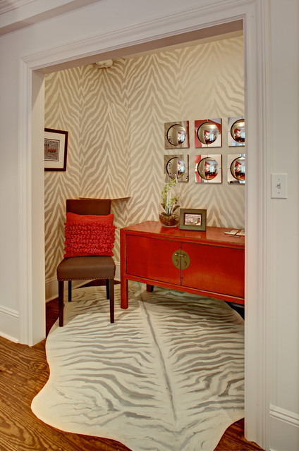 New Jersey Designer Showhouse Alcove Asian Home Office