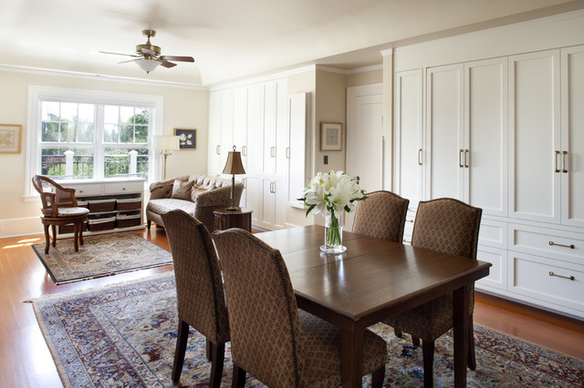 New Sewing Room - Traditional - Home Office - san francisco - by Arch Studio, Inc.