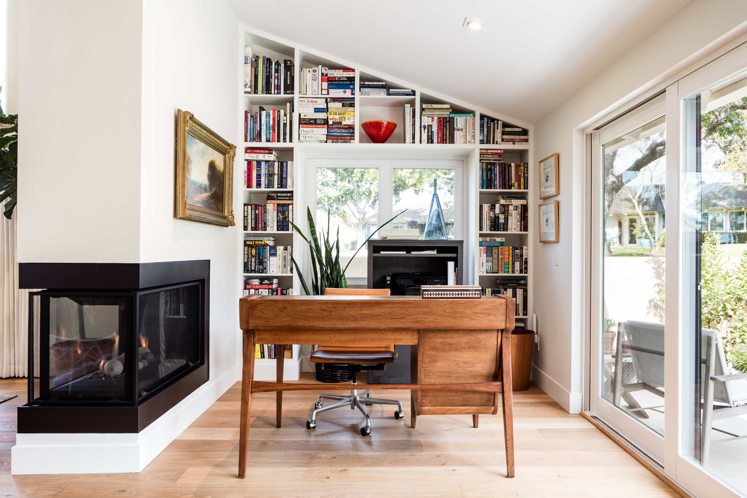 18 Beautiful Home Office Pictures Ideas October 2020 Houzz,Colors That Go Well With Red And White