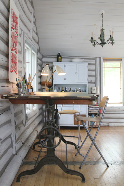 Nicole Ray - Eclectic - Home Office - Detroit - by Jeff ...