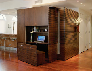 Ninth Avenue Apartment Contemporary Home Office New