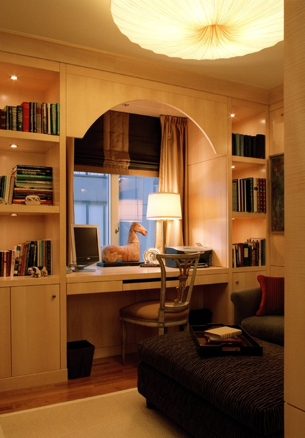 Nob Hill Penthouse traditional-home-office