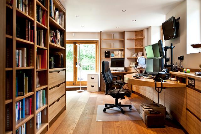 office barn. north dorset barn conversion office contemporaryhomeofficeandlibrary