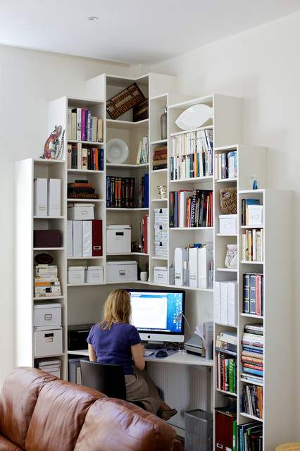 Notting Hill Gate contemporary-home-office