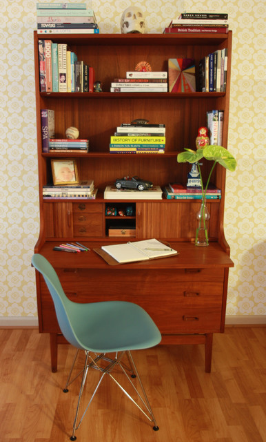 Oakland Home Office Nook eclectic-home-office